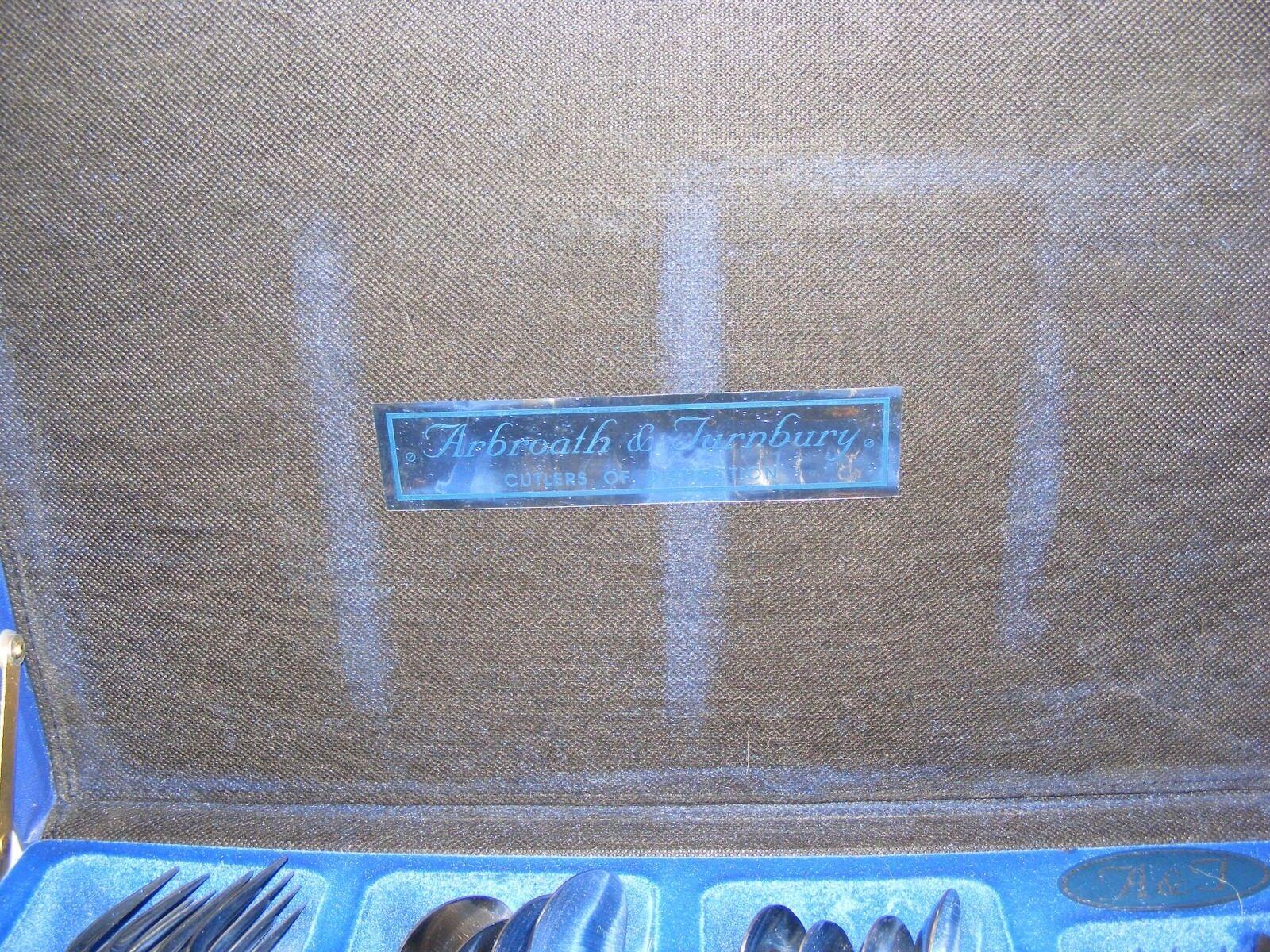 6 persona Acero Inoxidable Arbroath y turnbury de Cantina de turnbury cubiertos 39 piezas 837cf1