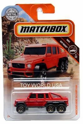 Matchbox 2019 MBX OFF-ROAD Mercedes-Benz G63 AMG 6X6 79//100
