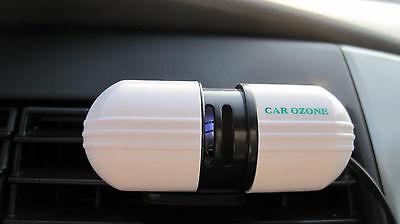 New 12V Car Auto Fresh Air Purifier Oxygen Bar Ozone Ionizer Air Cleaner
