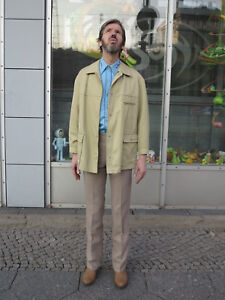 Helbra Men Herrenkonfektion Parka 70er Trenchcoat Coat Veb True Vintage Jacke ZqC5w1