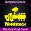 "WOODSTOCK Peanuts Woodstock on Festival Guitar Sticker 5/"" Unique Vinyl Decal"