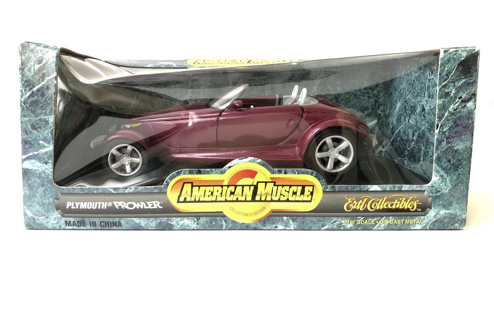 Ertl American American American Muscle Plymouth Prowler Die Cast Car 1 18 Scale 1996 077fc0