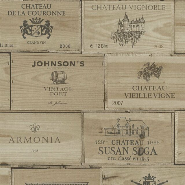 As Creation Wallpaper Authentic Walls 30477 1 Wooden Crates Boxes Fleece