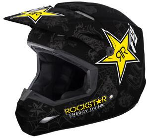 Fly-Racing-Elite-Rockstar-Helmet-Motocross-Dirt-Bike-Offroad-Snowmobile-UTV