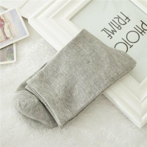 1Pair Mens Trendy Non Elastic 100/% Pure Cotton Socks Comfort Soft Grip Diabetic