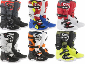 Youth Dirt Bike Boots >> Details About Alpinestars Youth Tech 7s 2019 Dirt Bike Boots Mx Atv Motocross Size Color