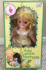 Vintage Strawberry Shortcake Baby Lemon Meringue - Blow Kiss Doll - NEW in Box