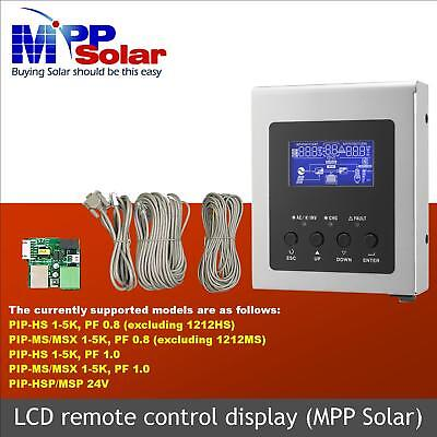 Renogy LCD Remote for Inverter Charger