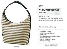 NEW Dakine Clementine 10L Tan Stripe Womens Purse Shoulder Bag Msrp$45