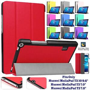 GUSCIO-duro-in-pelle-Smart-Case-Cover-per-Huawei-MediaPad-T3-10-9-6-034-8-034-7-034-pollici