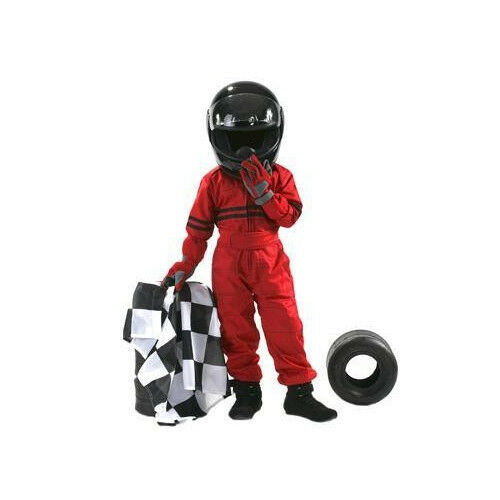 One piece Race Suit 3-12 Years Old Size Kids Racing Overall