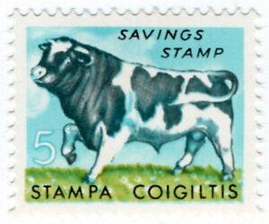 I-B-Ireland-Revenue-Television-Savings-Stamp-5p-Bull