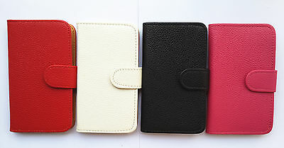 Luxury Flip PU Leather Card slots Wallet Case Cover Pouch For Samsung phones 2
