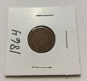 1864-Indian-Head-Penny-One-Cent-Collectors-Coin-Exact-Coin-Shown