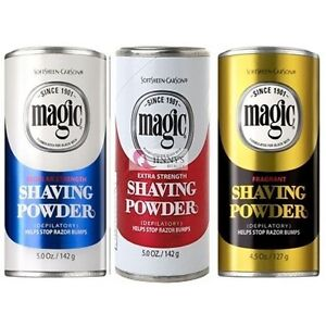 Magic-1BLUE-1RED-AND-1YELLOW-No-Razor-Hair-Removal-Shaving-Powder-381-gm