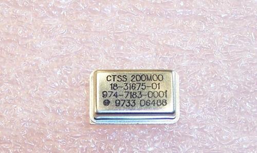 QTY 200.00MHz FULL SIZE  OSCILLATORS CTSS 200MHz 5