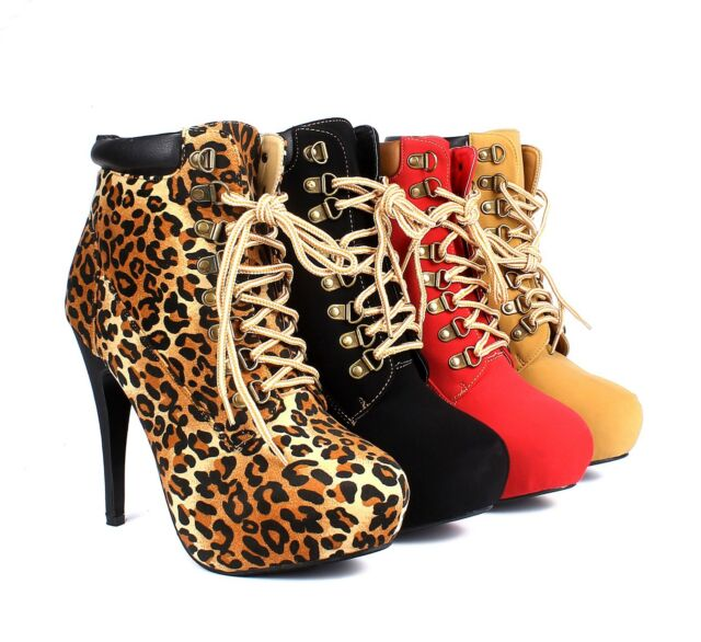 4 Color Fashions Ankles Boots Pumps Proms Stilettos Platforms Womens Heels Shoes