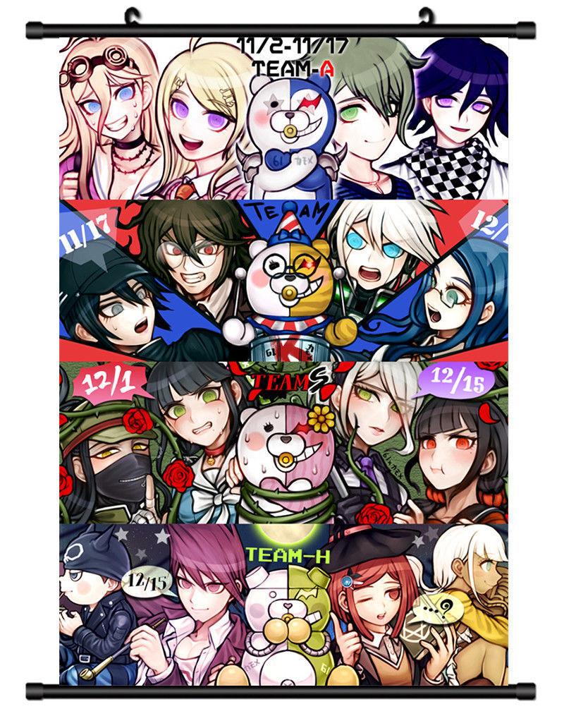 Hot Danganronpa Kirigiri Kyouko Home Decor Poster Wall Scroll 41*56cm