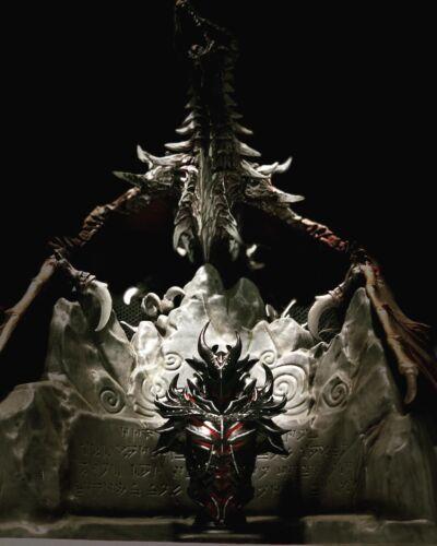 Skyrim The Elder Scrolls Busto Armatura Daedrica Figure Replica