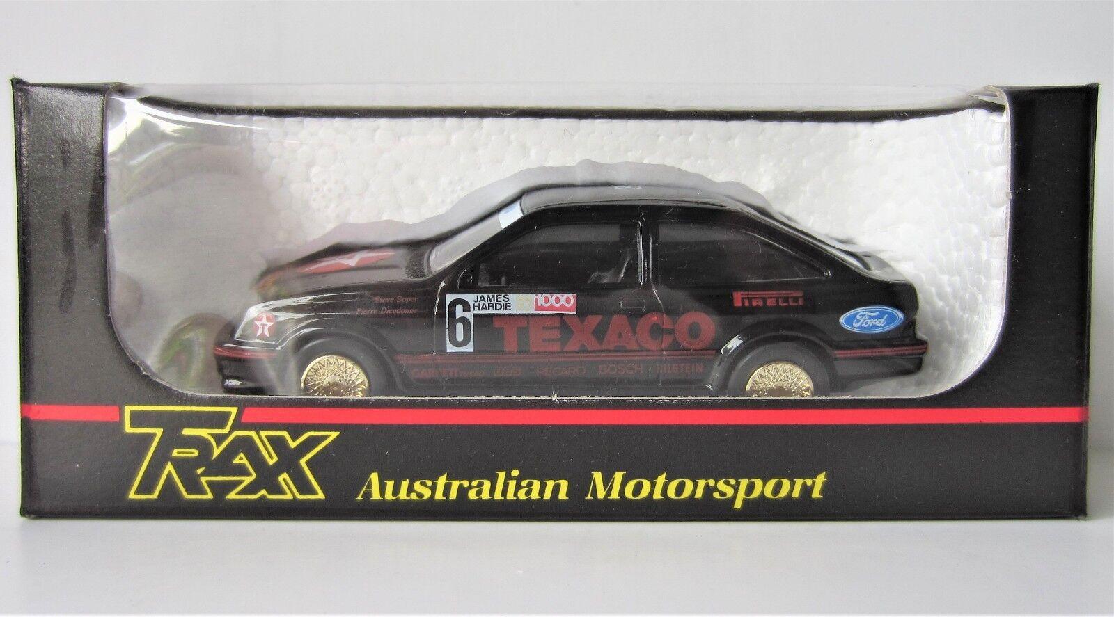 Trax MINT diecast 8023 Bathurst Texaco FORD SIERRA COSWORTH 1987 model 1 43