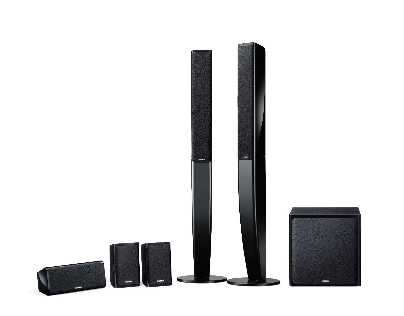 NEW - Yamaha 5.1 Channel Tower Speaker System