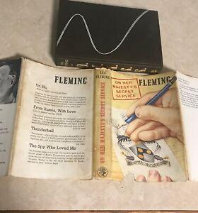 Ian-Fleming-On-Her-Majesty-039-s-Secret-Service-1963-1st-ed-UK