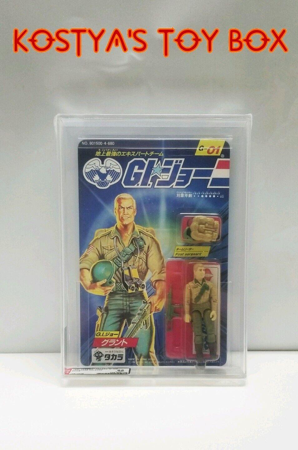 Gi Joe Duke 1986 menta en tarjeta figura de acción autoridad clasificados 85 Hasbro Takara Fábrica Sellada Figura De Acción