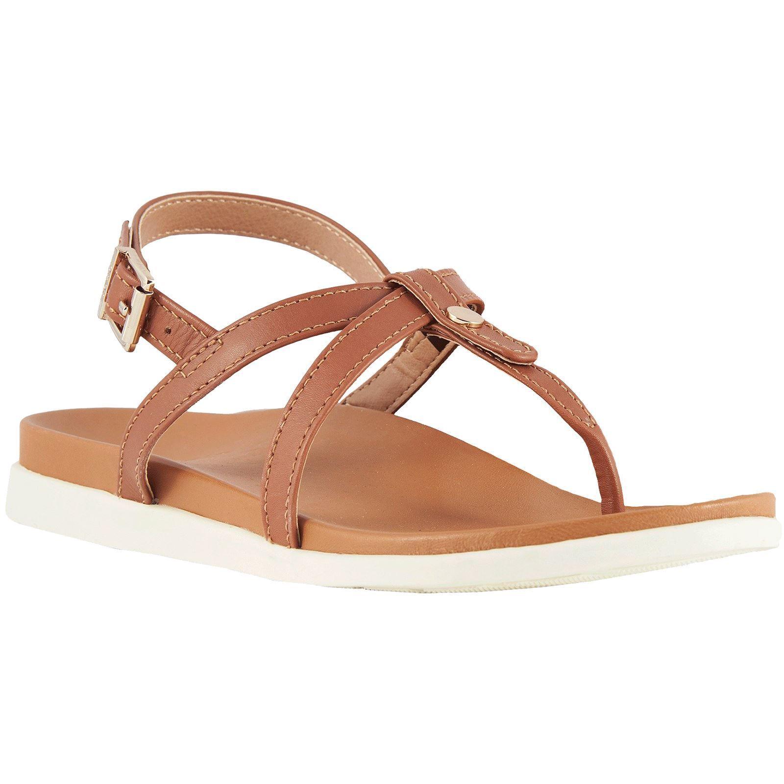 Vionic Palm porche tan tan tan mujer Leather slingback Toe-post Sandals  Con precio barato para obtener la mejor marca.