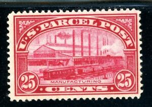 USAstamps-Unused-FVF-US-1912-Parcel-Post-Manufacturing-Scott-Q9-OG-MLH