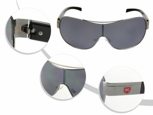 LOOX Sonnenbrille Herren Damen Pilotenbrille Modell 104 Barbados schwarz