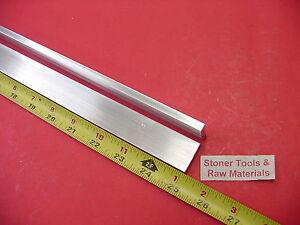 "2 pieces 1//4/"" X 1/"" ALUMINUM 6061 FLAT BAR 12/"" long T6511 Solid New Mill Stock"