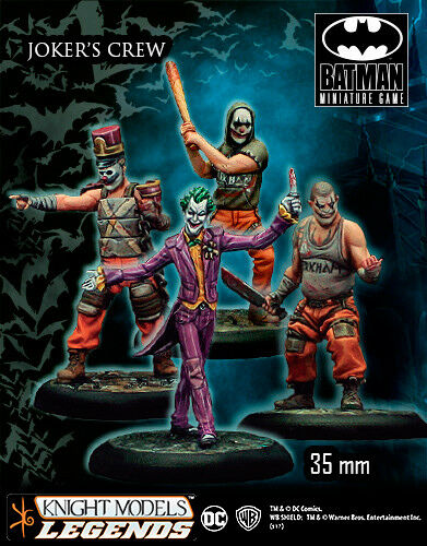 KNIGHT MODELS DC JOKER CREW METAL NEW