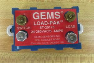 Gems-Sensors-ST-20173-Solid-State-Relay-ST20173-24-260-VAC-5-AMP