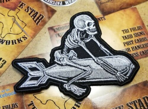 Skeleton Bomber patch