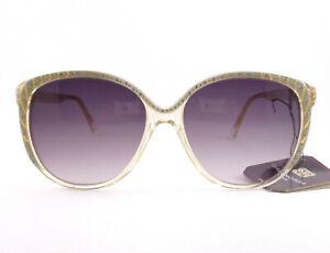 codice promozionale a2761 46f6b Dettagli su occhiali da sole Balenciaga vintage donna modello 2716-G colore  grigio/traspar.