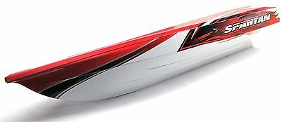 Spartan Boat RED HULL-UPDATED VERSION! 5714X Traxxas 5707