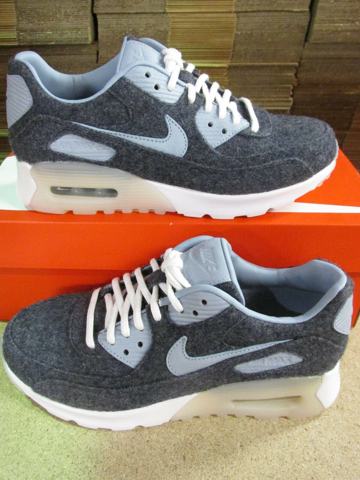 Nike Ultra Femme Air Max 90 Ultra Nike PRM fonctionnement Trainers 859522 400 Baskets chaussures 5b2a23