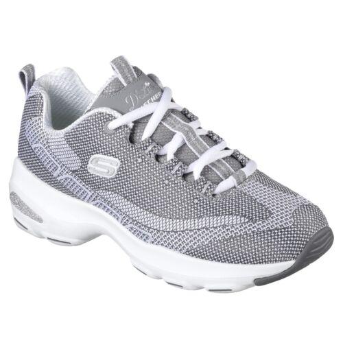 Skechers D/'Lites Ultra Trainers Womens Memory Foam Chunky Fashion Knit Shoes