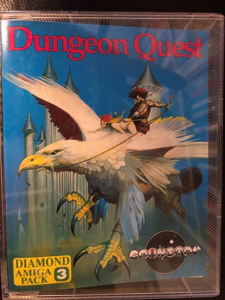 Dungeon Quest, Amiga 500