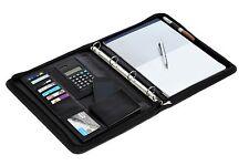 Executive A4 carpeta de anillo/Cartera/documentos de Conferencia Carpeta/Pluma/Calculadora