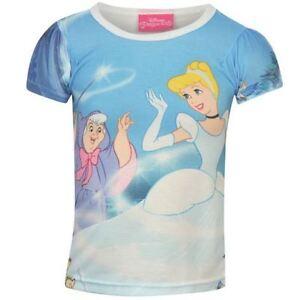 DISNEY-t-shirt-CENDRILLON-princesse-marraine-2-3-3-4-5-6-ou-7-8-ans-NEUF