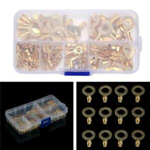 150PCS-Ring-Terminal-Multi-Purpose-Cable-Lug-Bare-Terminal-Connector-New