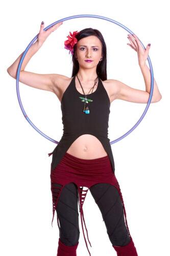 Festival Yoga Clothing Psy Trance Goa Boho Clothing Backless Organic Pixie Top