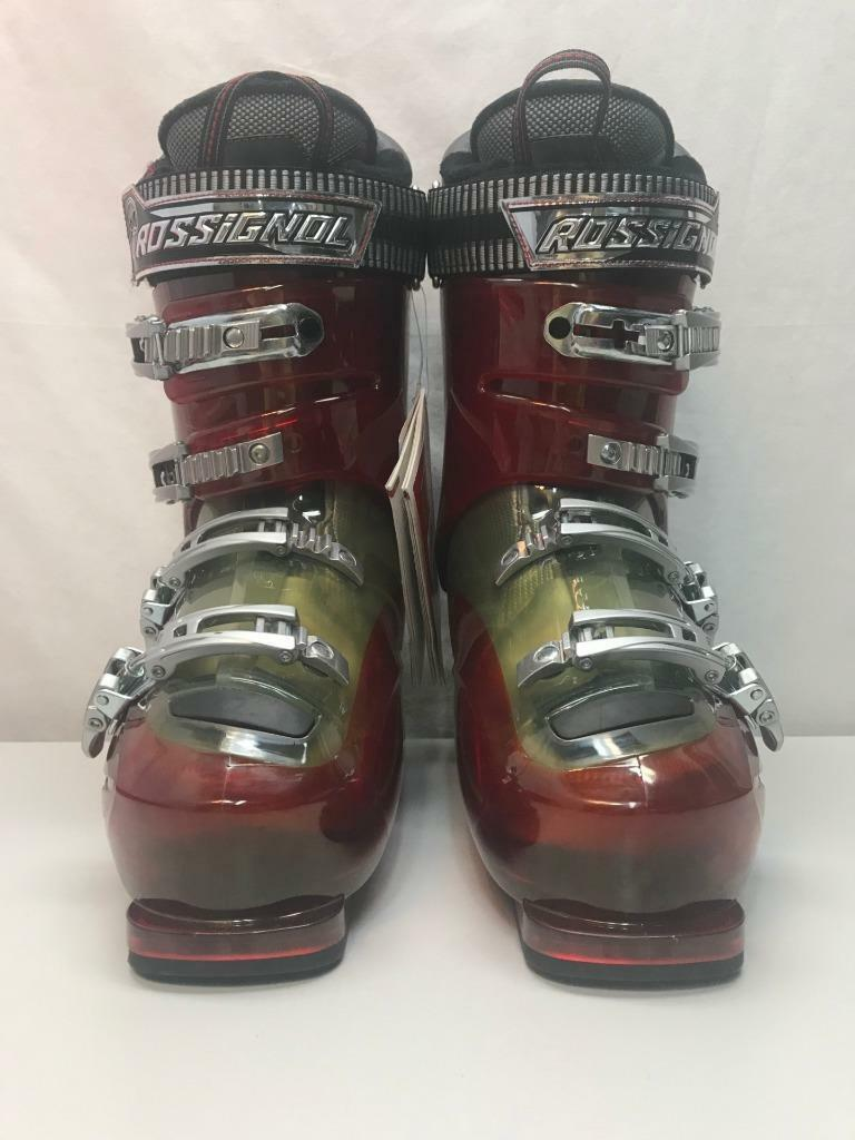 Rossignol  Herren Alias Sensor 100 Snow Ski Stiefel ROT Trans Größe 28.5, 10.5 US NEW