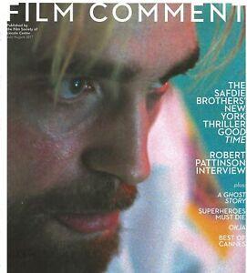 FILM COMMENT JULY-AUGUST 2017 -  ROBERT PATTINSON - SUPERHEROES MUST DIE - OKJA