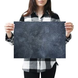 A3-Dark-Stone-Slate-Wall-Colour-Poster-42X29-7cm280gsm-21449