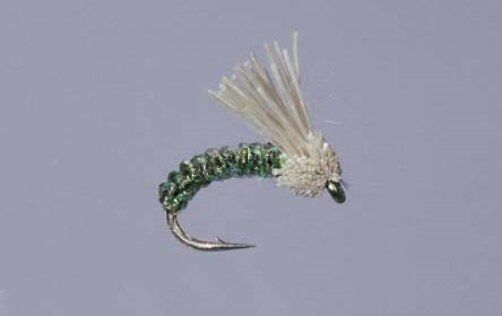Umpqua Serendipity Nymph Fly Dark Green Bulk Sale New