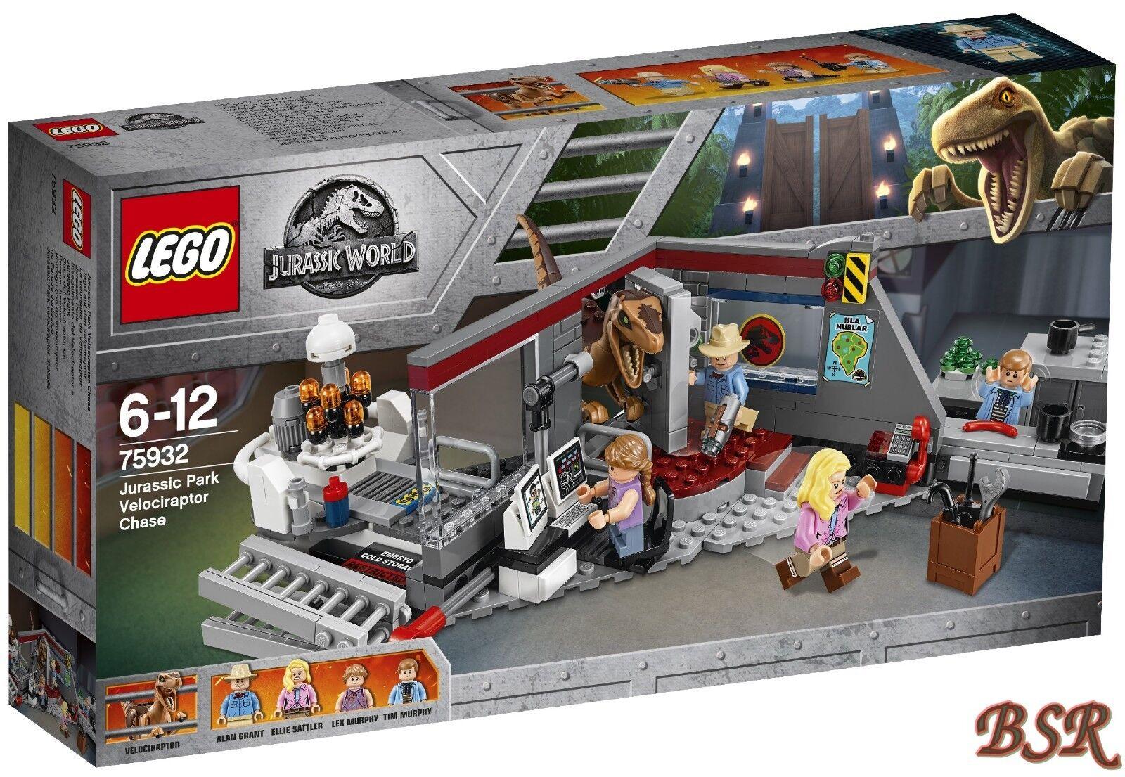 LEGO® Jurassic World™: 75932 Jagd auf den Velociraptor Exklusiv 0.-€Versand NEU