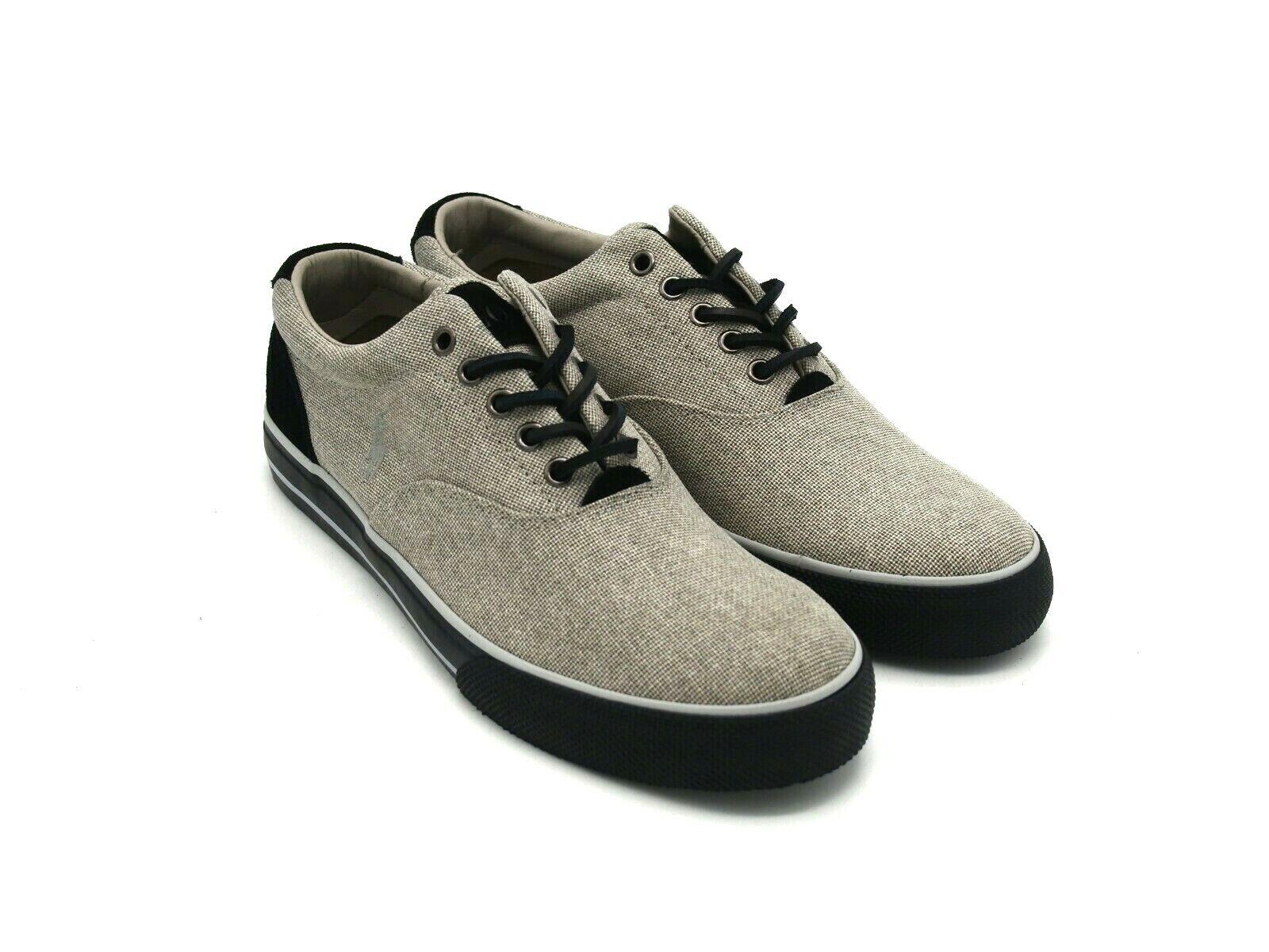 D2544 New Men's Ralph Lauren Polo Vaughn Grey Athletic shoes 10 M
