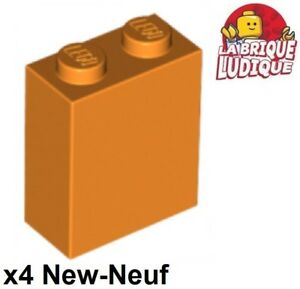 Wall Brick 1x2x2 New New White, White 6 x lego 3245 Brick Wall Pillar